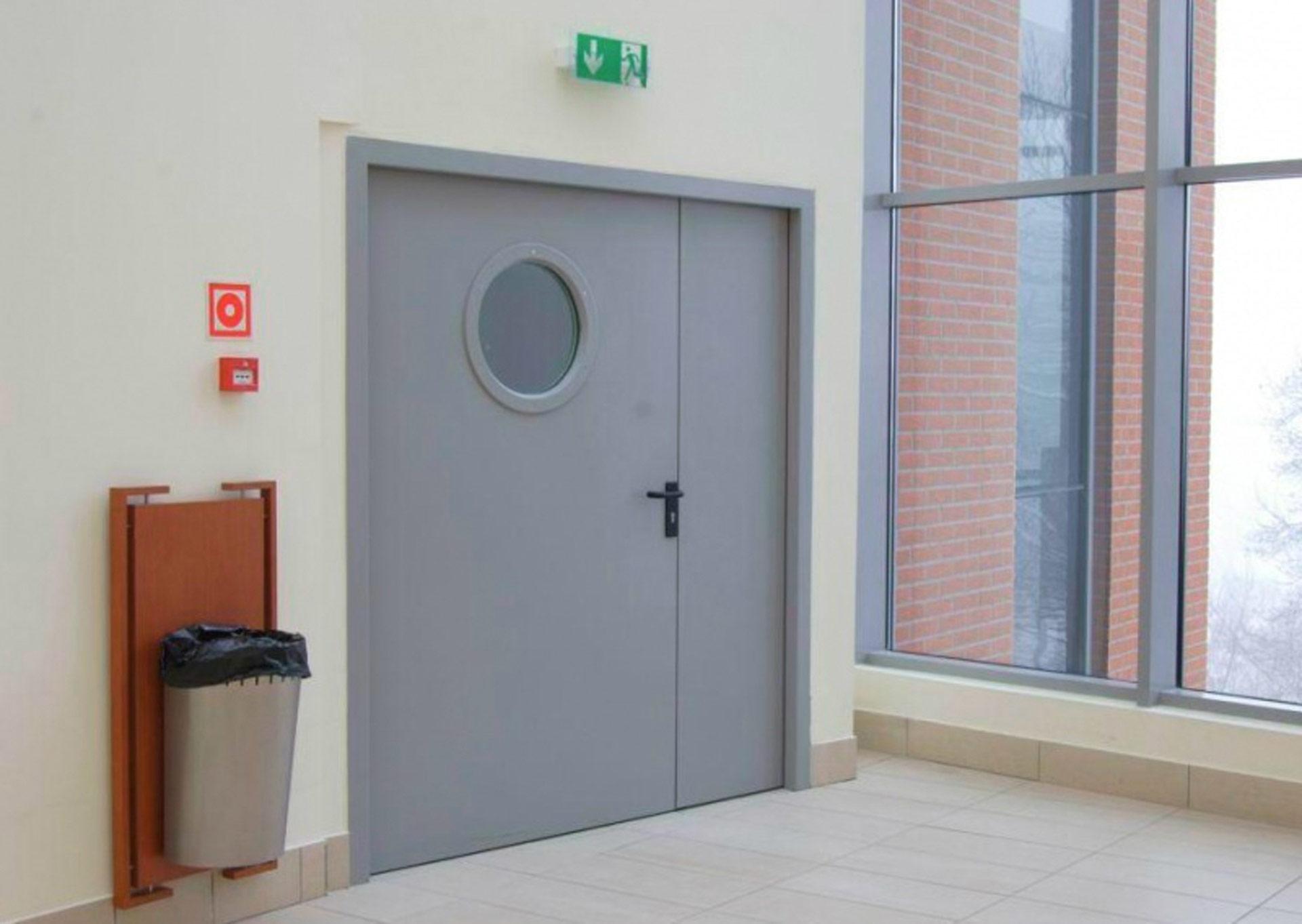Les portes coupe feu pomapi - Porte interieure coupe feu ...